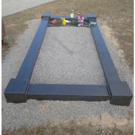 чёрного цвета на 1 место - Ограда из карельского камня