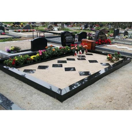 Надгробный камень и гравировка 60x40 cm