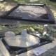 Karelia  pruun graniidist hauapiirded - Haud 2-le inimesele.