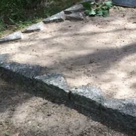 Бутовый камень Удаление старой ограды 1-3  H.K.