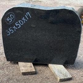 Памятники Nr50- 35x50x17 cm  только материал
