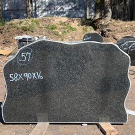 Памятники NR57- 58x90x16 cm  только материал